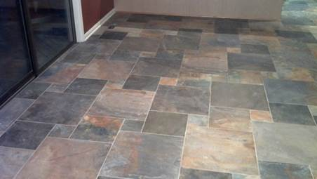 New Stone Tile Floor